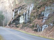 Icicles at Frozen Head State Park