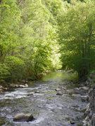 Along little river