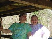 Walker Sisters Cabin with Misty