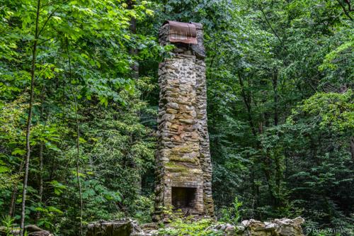 Chimney along Jakes Creek 6/14/18