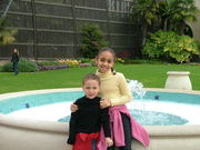 Chloe and Elijah in Balboa