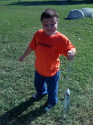 Cole's First Fish!