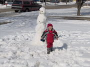 I love my snowman