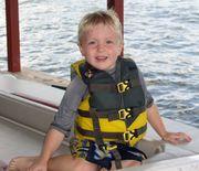 Daniel at lake property