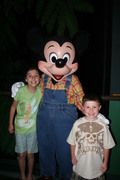 With Mickey @ the Garden Grill
