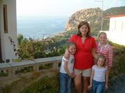 In Sicily 2004 (Wyatt in the Oven)