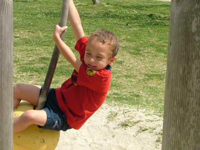 Elijah at 5 years old in Japan