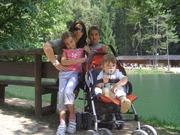 """The """"Smeraldo"""" lake"""