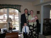 us, jacob, and ava mae easter 2008