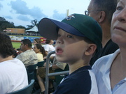 Brogan's first Zephyr's game