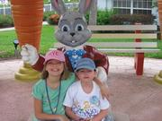 With Aunt Scarlett at GKTW