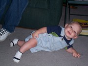 Chantz when he started crawling (long time ago)