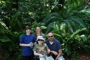 The Mayo family at Disney World 2008