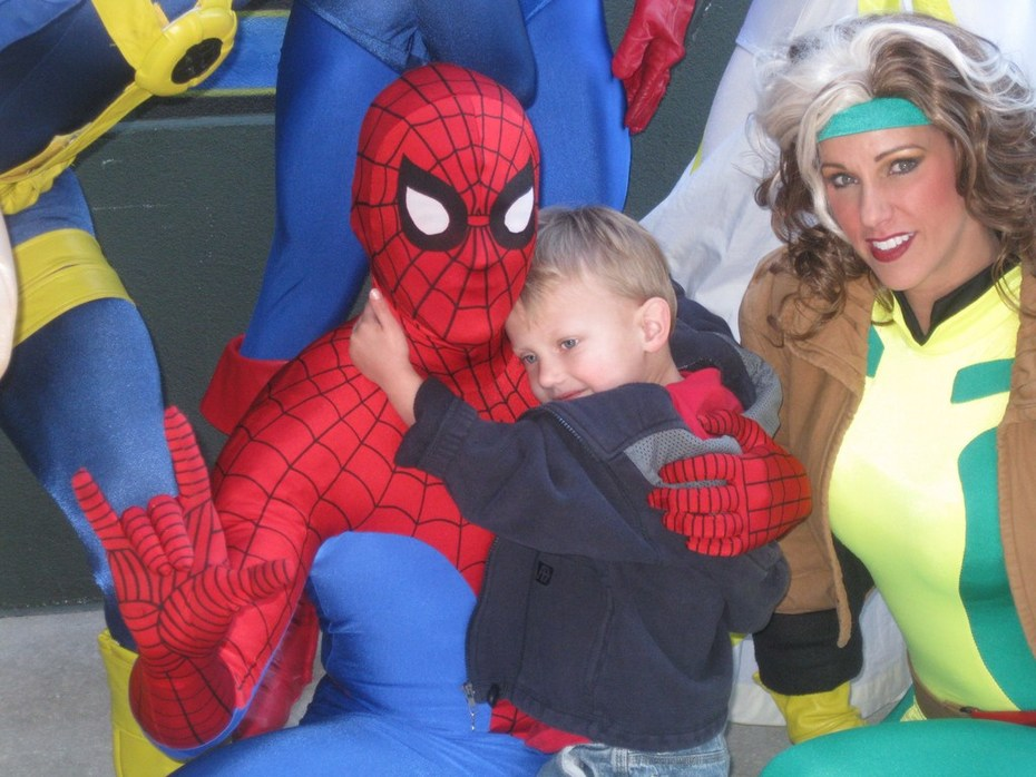 Baylor & Spiderman