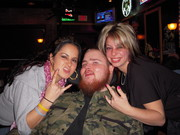 David out with the ladies!!