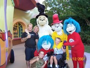 The family on make a wish trip!