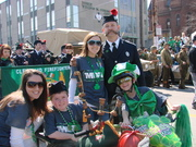 Jack & Mark with MDA reps and lead pipper