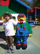 "Miller at his Favorite ""LEGOLAND"""