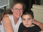Tyler and his Aunt Karen