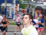 Ryan Morgan at Mile 4