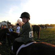 Liam's First Horse Competition