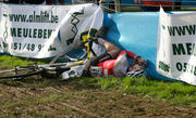 Swiss rider having a bad day at Worlds