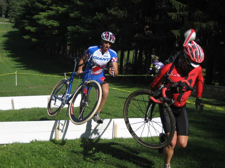 Mike Seaman - Specialized - and Matt Baroli - Team GIANT Michigan