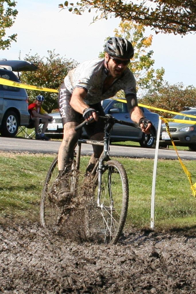 Mud makes cross fun!