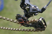Roubaix World Cup last lap mechanical