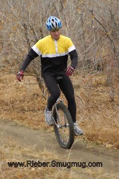 Unicycle racer