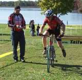 Filming at the Stoney Creek race, in MI.