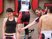 Rutgers Cycling and our matching tattoos