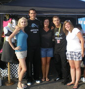 Track Chic's Lug Nuts & Fans!