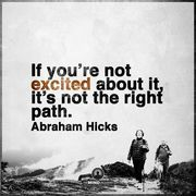 Inspired by Abraham Hicks