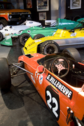 A serie of 70's racing cars