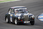 Our 1958 MG MAgnette ZB (sold) at Hockenheim April 2011