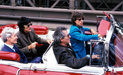 Rolling-Stones Mick Jagger Driving Franks 1955 Eldorado Biarritz Convertible