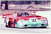 Vic Elford in a factory Alfa T33/TT/3 at Sebring 1972