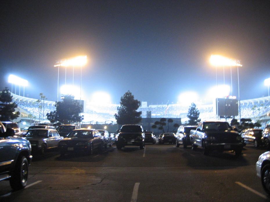 Outside of Dodger Stadium