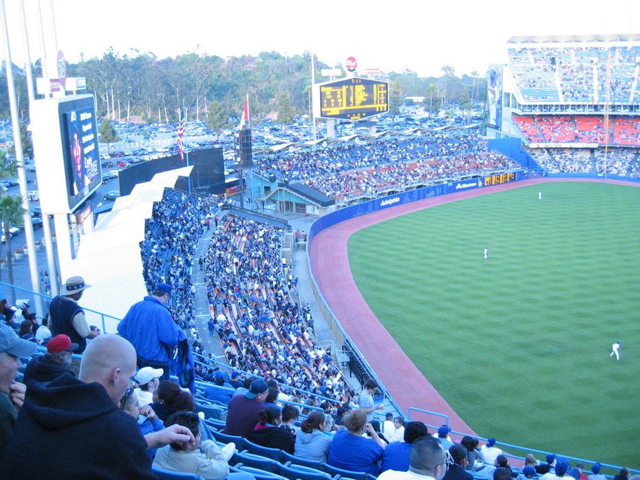 seats at dodger stadium