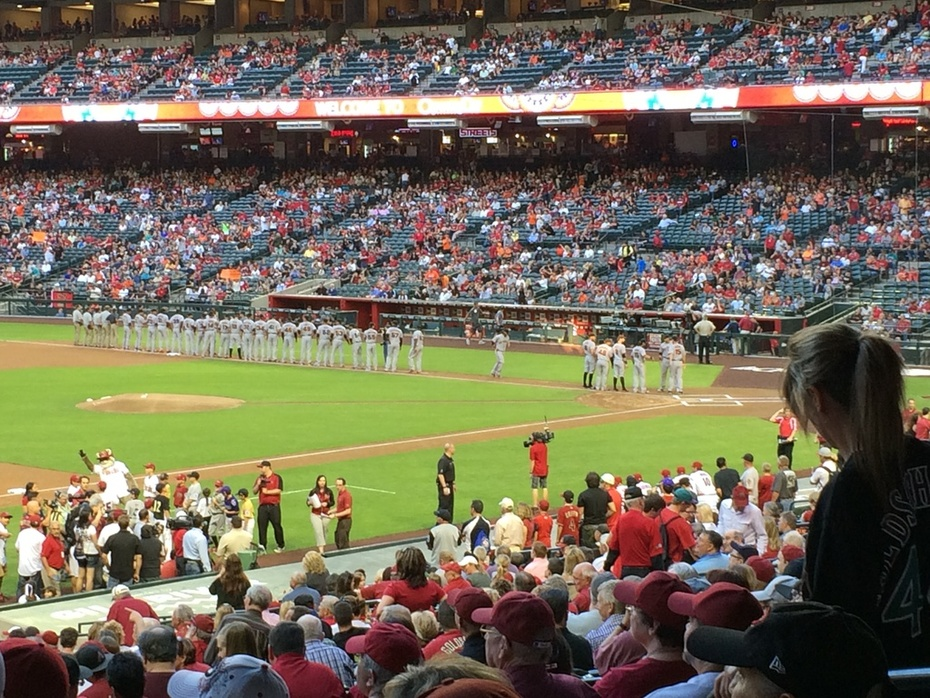 Opening Day at Chase Field