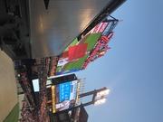 Cooper made the scoreboard STL