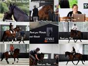 Piaffe in-Hand, Schooling Pirouette, Back Check