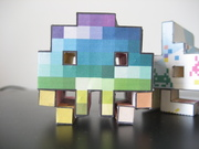 """first papertoy job """"the invadys"""""""