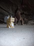 Tougui's Squirrel (e440) in Milodón's Cave (Chile)