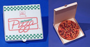 McDonald's Pizza Papertoy