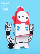 Paper Totem! x Ithinkp