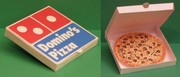 Domino's Pizza Paper Toy