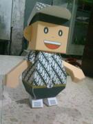 dumpy in batik