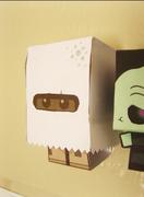 Cardboy Ghost Custom
